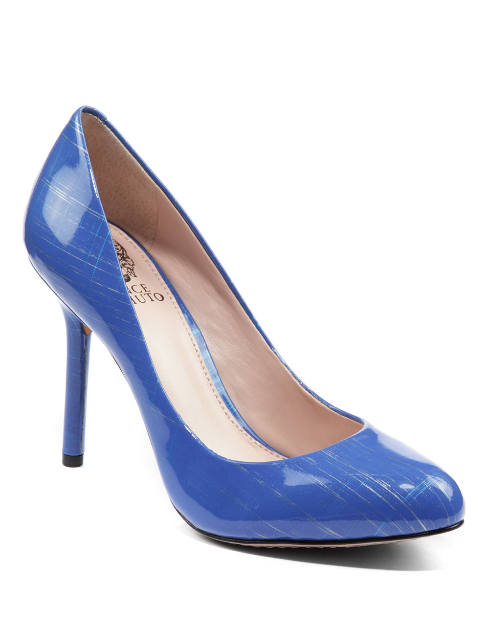 Vince Camuto Caelyn Patent Leather Pumps In Blue Blue 01