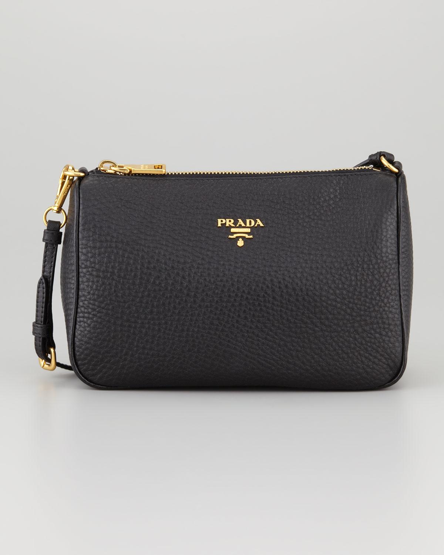 7e64ede64cc9 where to buy prada mini vitello daino crossbody bag 8bdb5 e90a1  germany prada  daino mini shoulder bag in black lyst f8867 97884