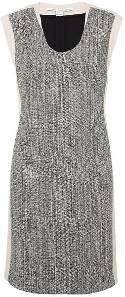Diane Von Furstenberg Katharine Tweed Dress - Lyst