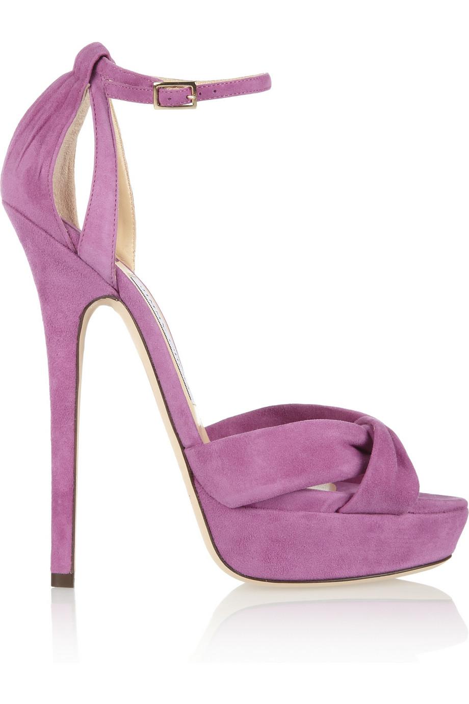 Lavender sandals shoes - Gallery