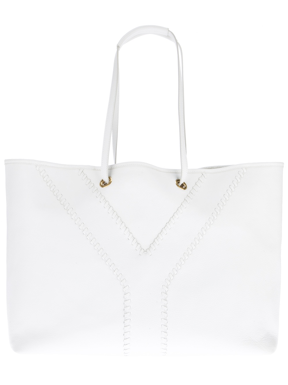 where to buy fake prada bags - Saint laurent Neo Double Tote in White   Lyst