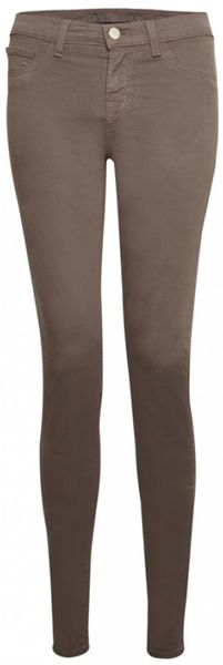 J Brand J Brand 811 Skinny Jeans Pelt in Brown (denim)