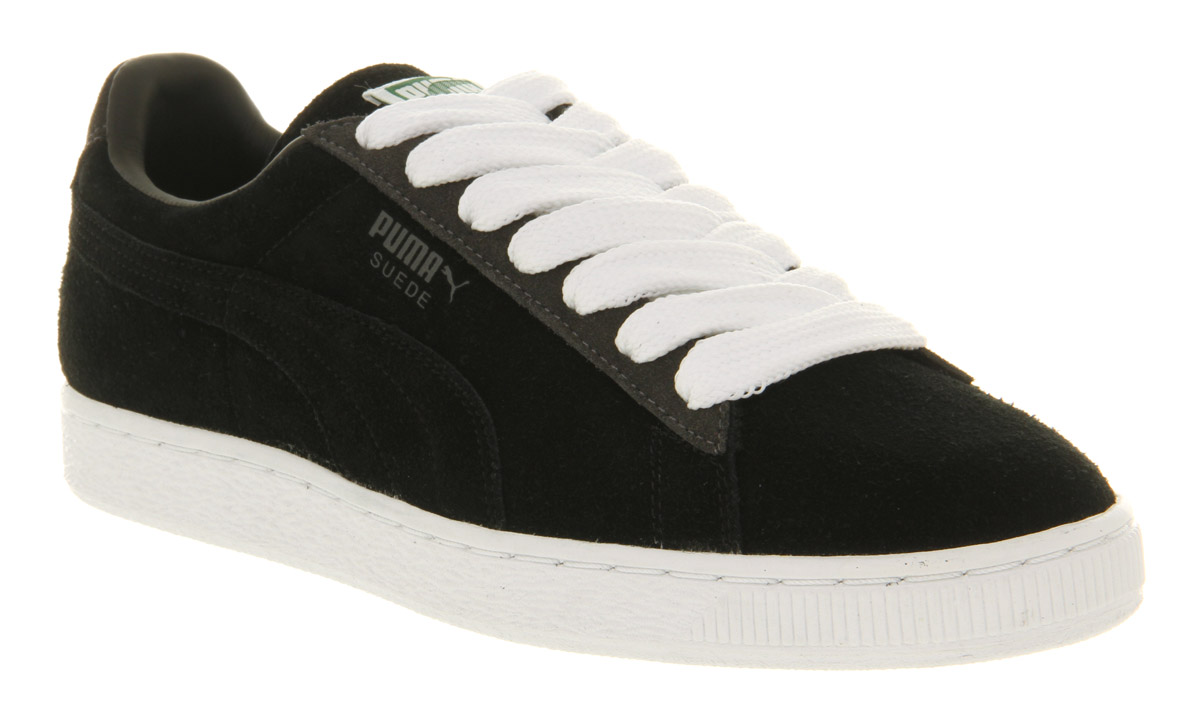 best service a61e0 915f5 Puma Suede Black Red wearpointwindfarm.co.uk