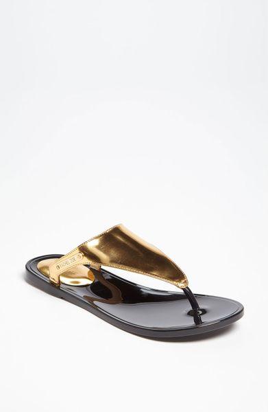 Rachel Zoe Cami Sandal In Gold Lyst