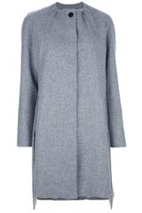 Fendi Collarless Coat