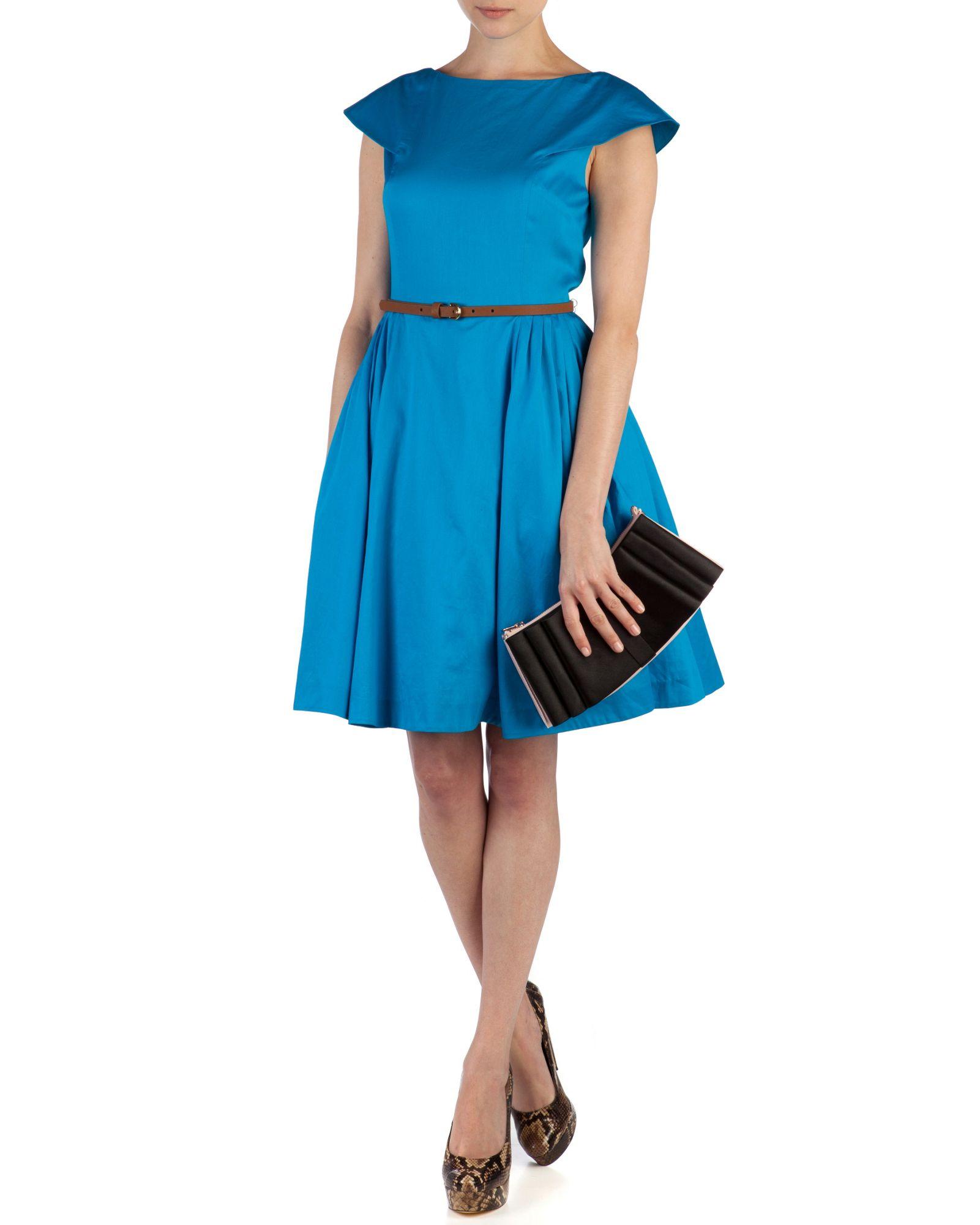 Blue Full Skirt 20