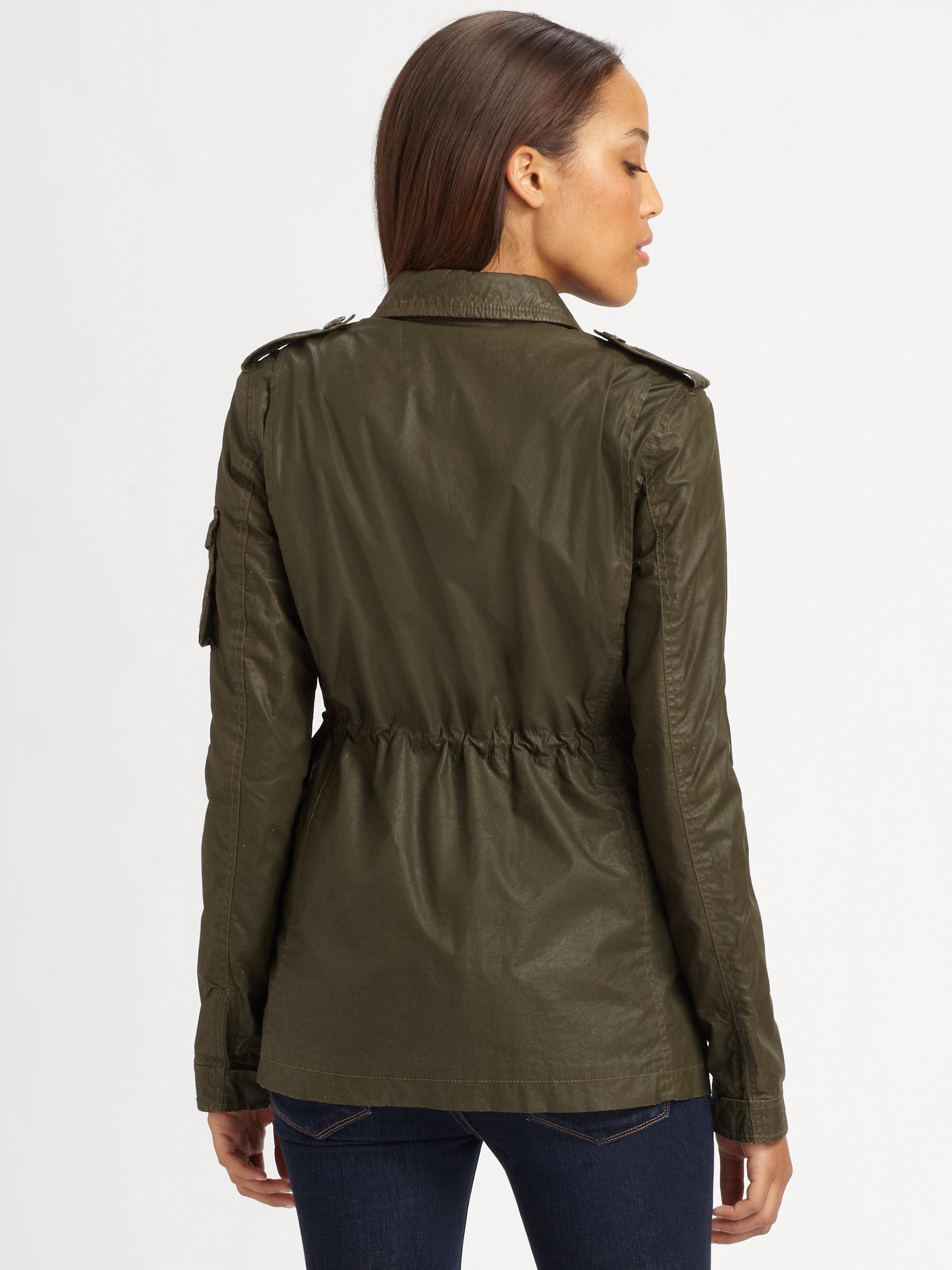 Hunter Lightweight Field Jacket in Green | Lyst