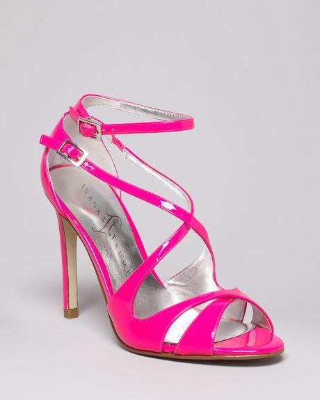 Hot Pink High Heel Sandals ~ High Heel Sandals