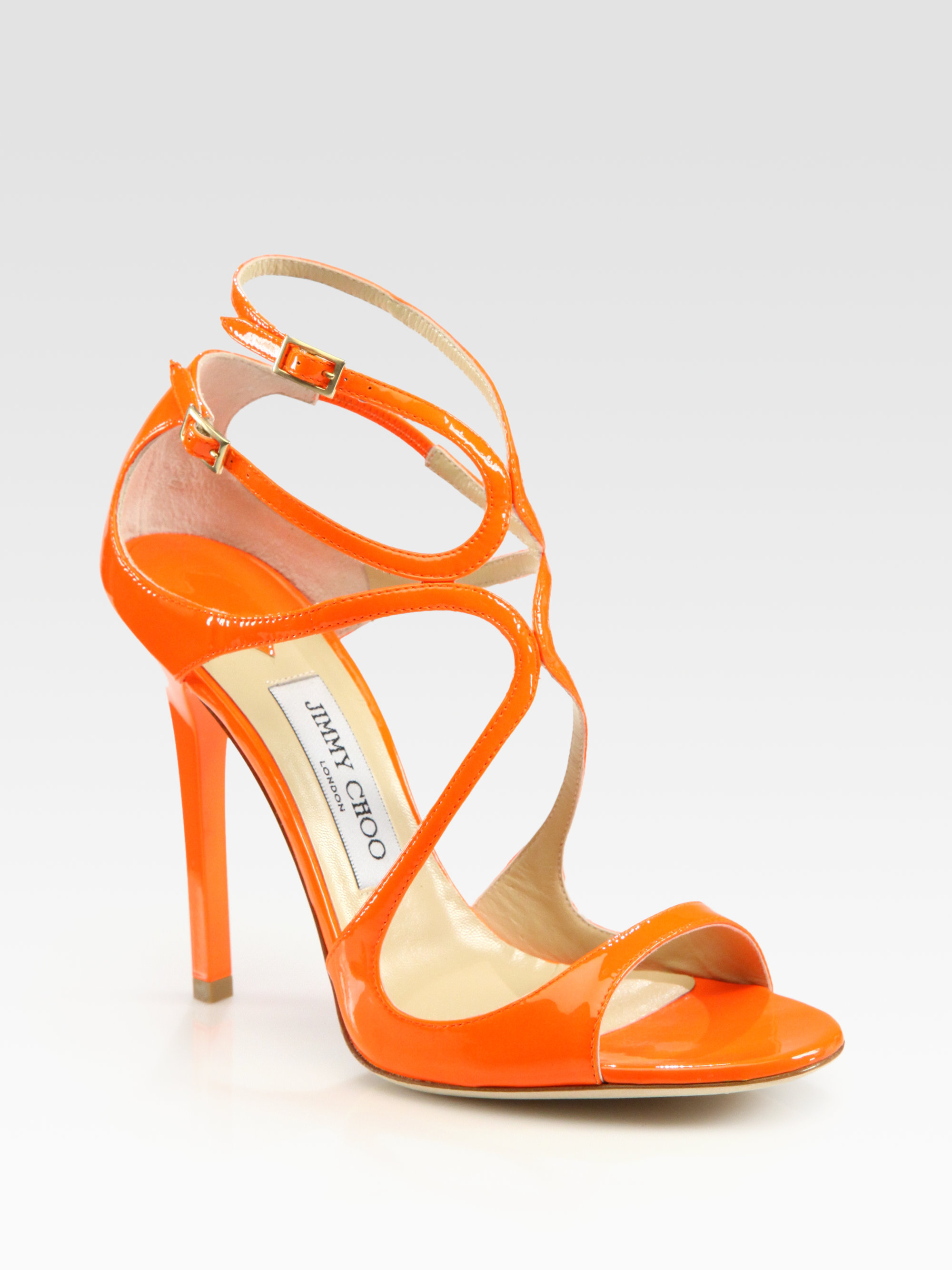 5896d5aa322 Gallery. Previously sold at  Saks Fifth Avenue · Women s Jimmy Choo Lance  Women s Perspex Heels ...