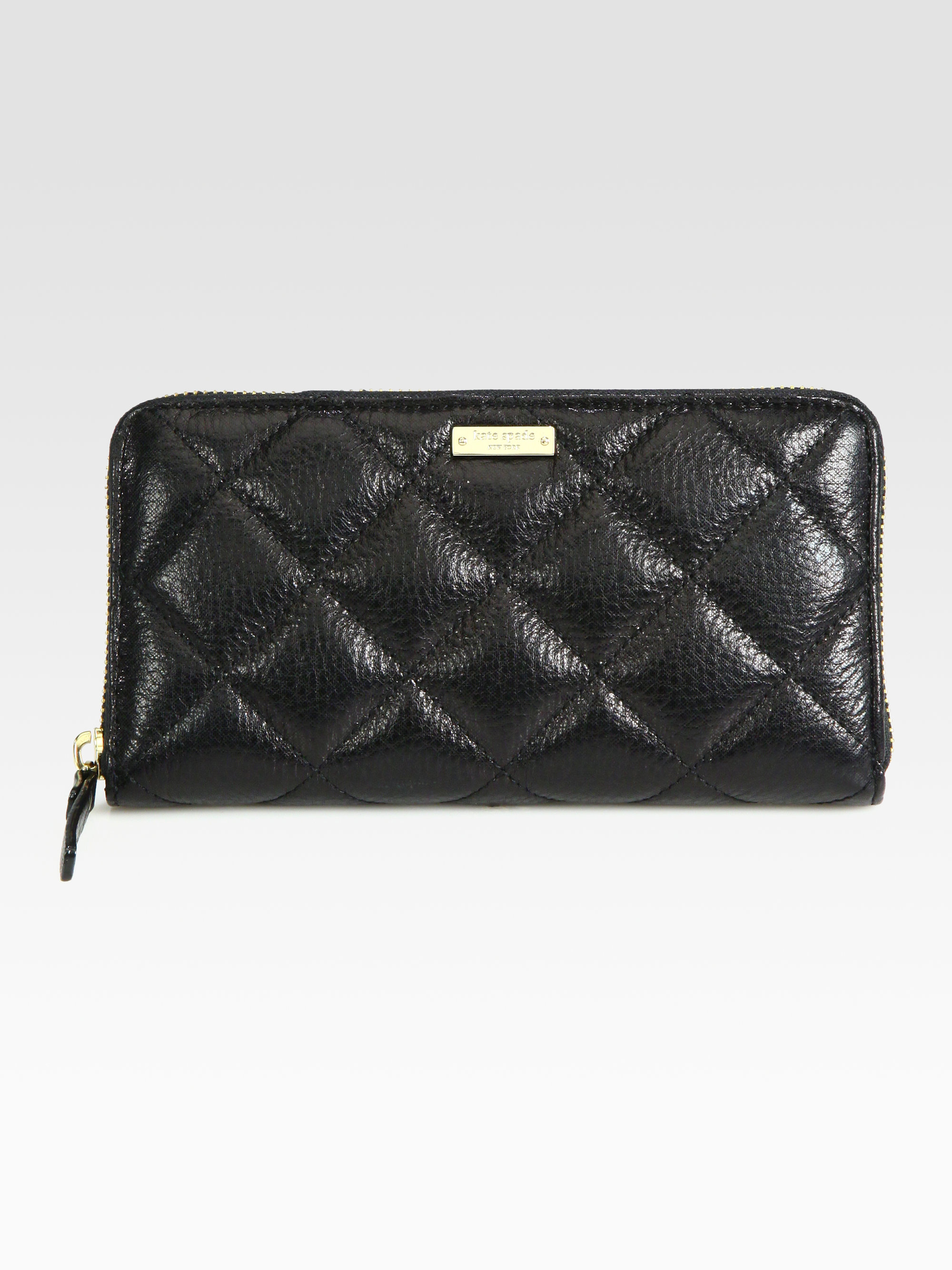Kate Spade New York Lacey Quilted Zip Around Wallet In