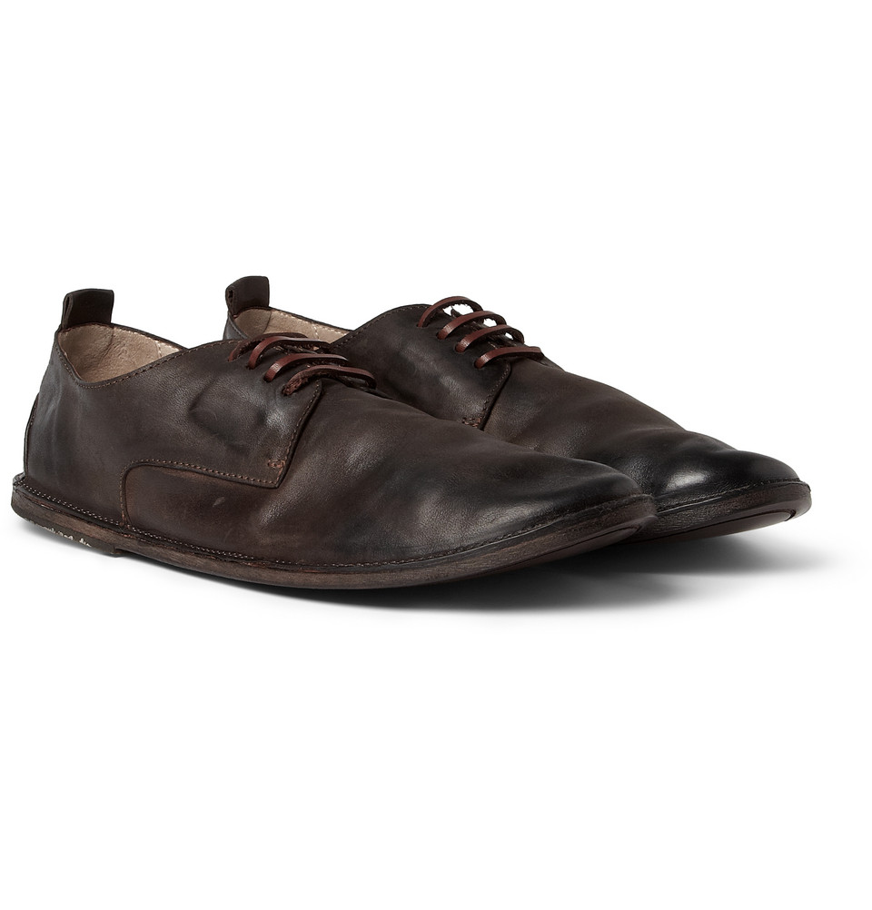 Hudson Brown Leather Shoes