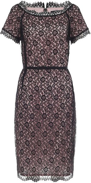 St. John Eyelash Lace Dress - Lyst