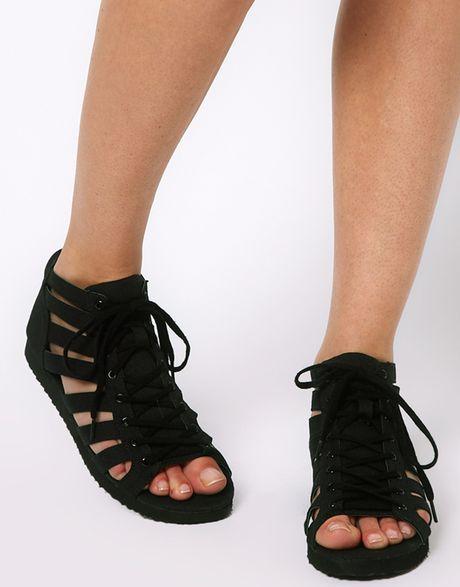 0f1fc3922d0 Black Sandals  Black Flat Sandals Asos