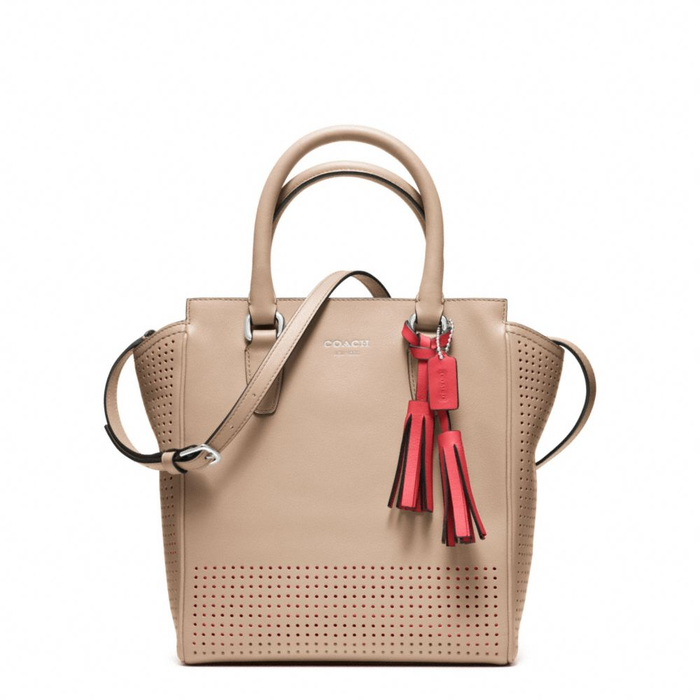 ... Coach Legacy Perforated Mini Tanner Bag in Natural Lyst ... 67e31bb953