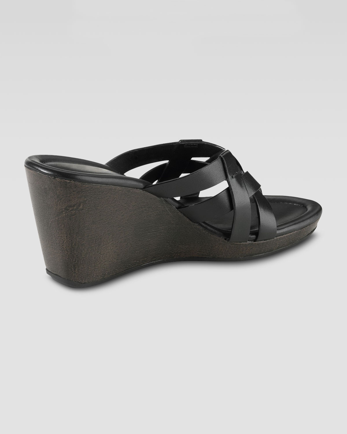 94aaef3199c83 Lyst - Cole Haan Bonnie Strappy Wedge Thong Sandal in Black
