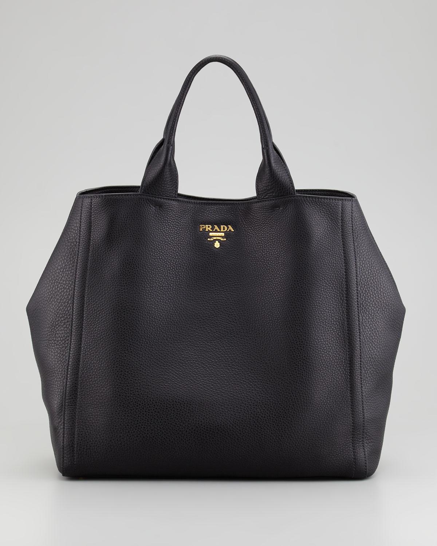 2ee5feaa3ce3b wholesale prada large tote bag in black lyst 6e44c 6edce