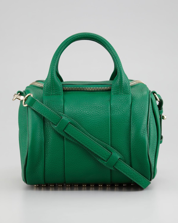 Alexander wang Rockie Small Crossbody Satchel Bag Green in Green ...