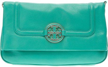Tory Burch Shoulder Bag in Green (blue)