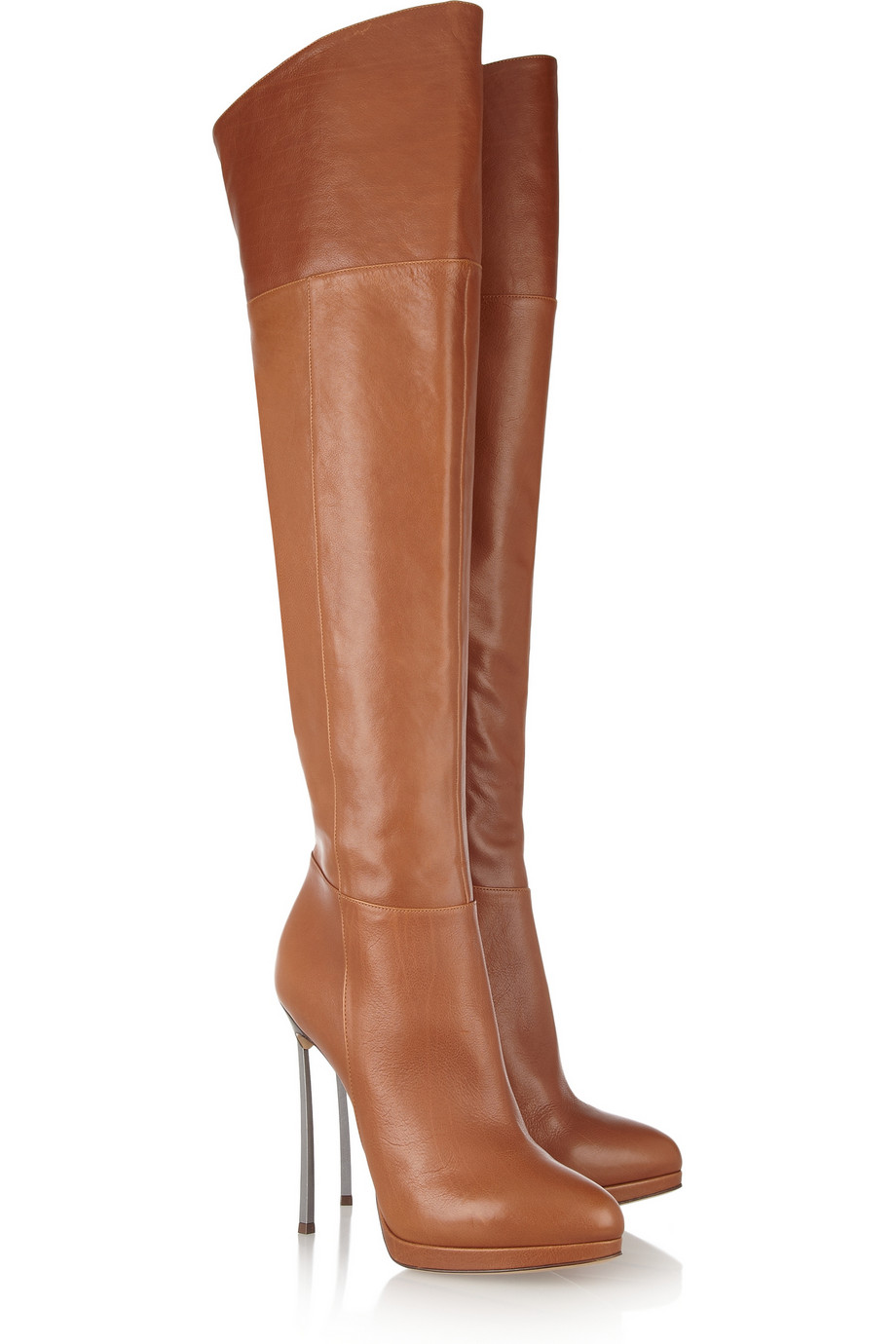 shoeniverse casadei tan leather thigh boots. Black Bedroom Furniture Sets. Home Design Ideas