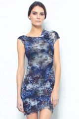 Helmut Lang Oxide Print Dress