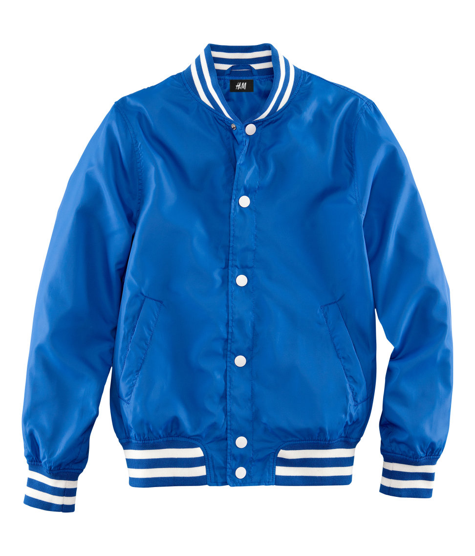 Nylon Baseball Jacket wHCXuy