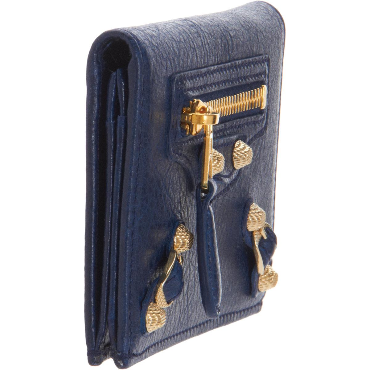 Balenciaga Giant Gold Card Case