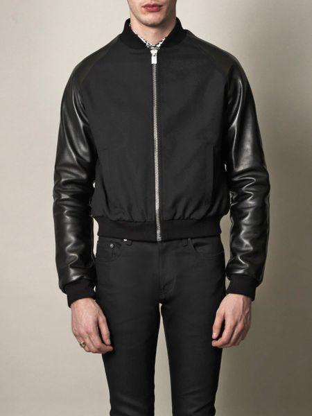 1381de1ec Saint Laurent Teddy Bomber Jacket | MIT Hillel