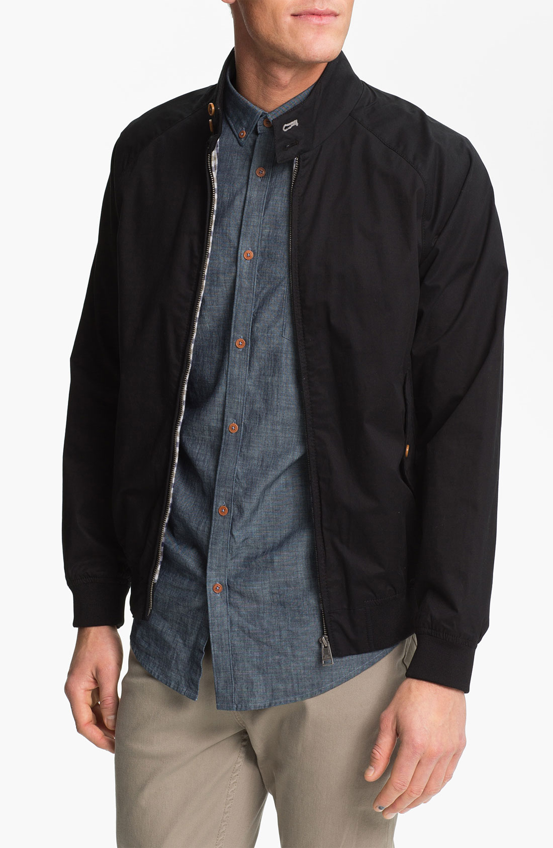 lyst ben sherman harrington jacket for men. Black Bedroom Furniture Sets. Home Design Ideas