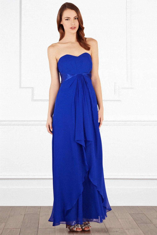 Coast Michegan Maxi Dress in Blue | Lyst