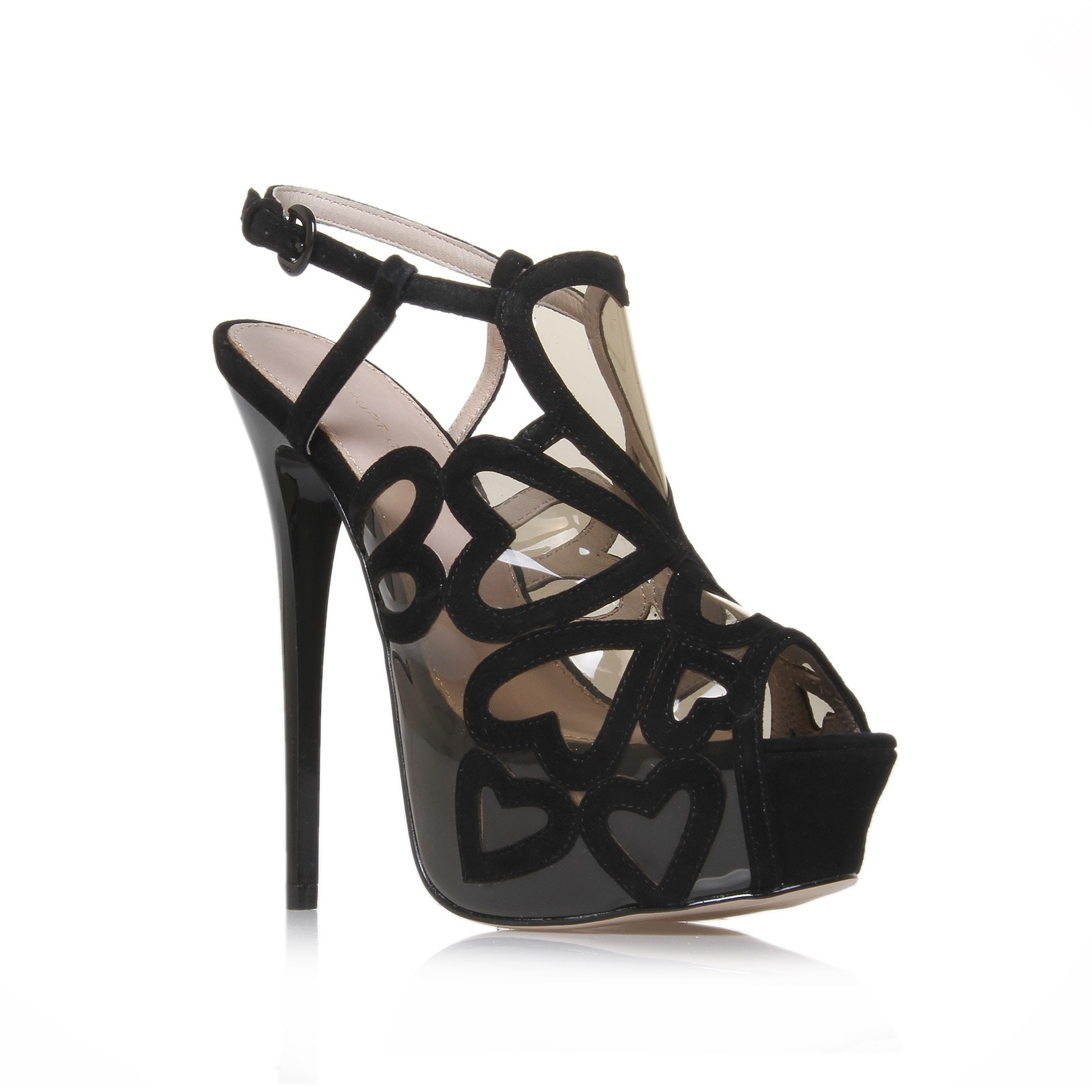 Giuseppe zanotti high heel platforms in motion 5