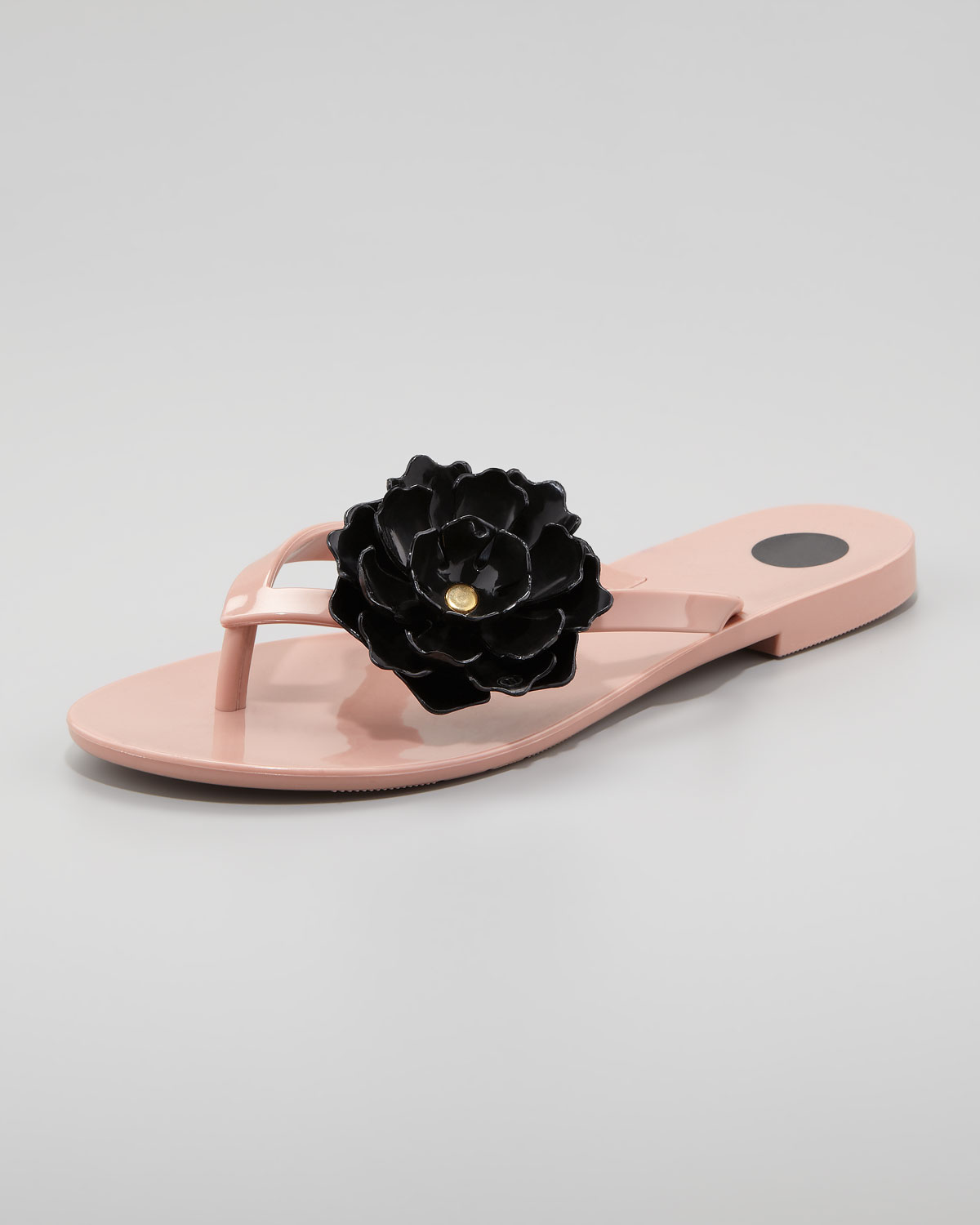 04c4ebf32 Lyst - Melissa Harmonic Floral Thong Sandal Nude in Natural