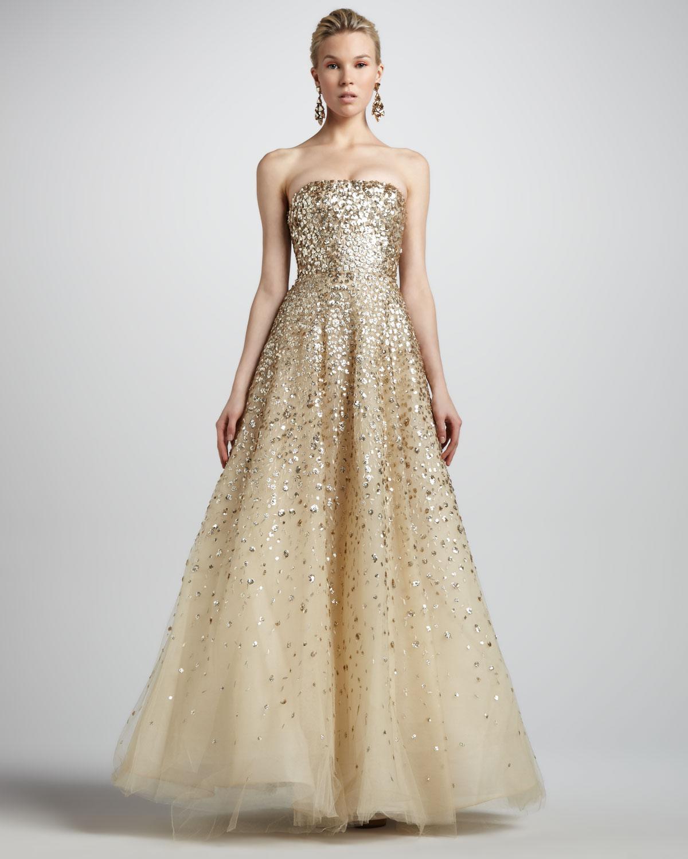 Renta de la oscar evening gowns 2019