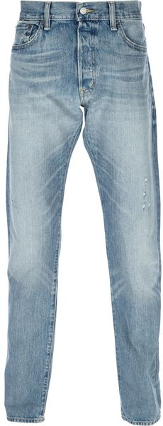 Ralph Lauren Regular Fit Jeans in Blue for Men