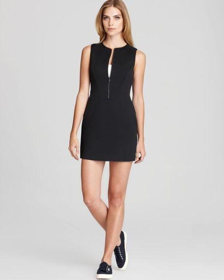 Slinky Black Dress