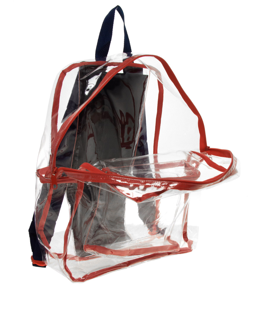 American Apparel Clear Backpack Lyst