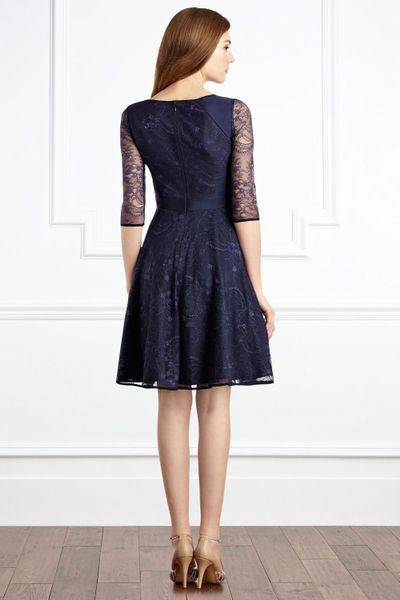Coast Toricella Lace Dress In Blue Navy Lyst