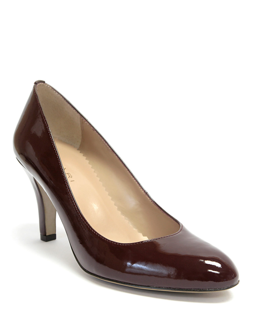 Tahari Westerly Patent Leather Pumps In Brown Lyst