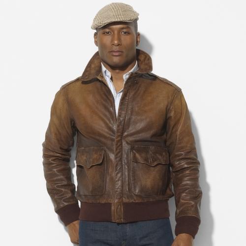 Lyst - Polo ralph lauren Farrington Bomber Jacket in Brown for Men