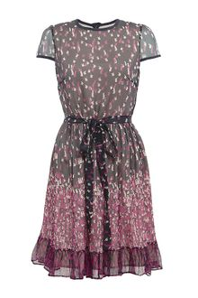 RED Valentino Rabbit Print Dress - Lyst