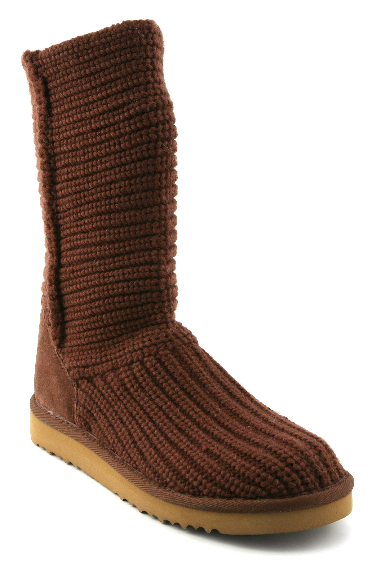 Ugg Crochet Short Boot Chocolate in Brown (chocolate) Lyst
