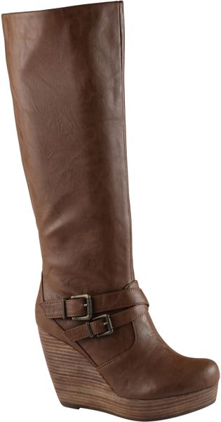 Aldo Elumina Boots in Brown (cognac)