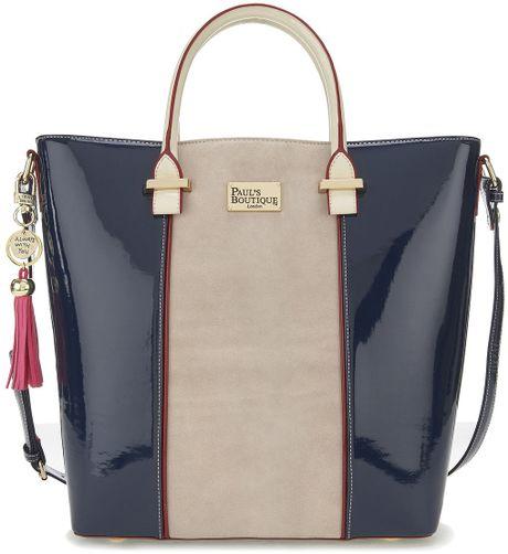 Topshop Natasha Bag in Blue (navy blue)