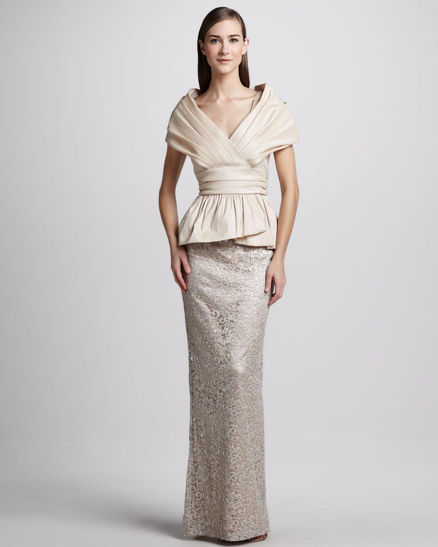 Peplum Gown   www.topsimages.com