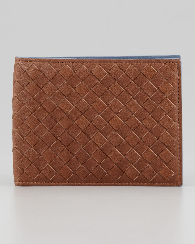 woven wallet - Brown Bottega Veneta 5M8Htj