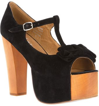 Jeffrey Campbell T-Bar Platforms - Lyst
