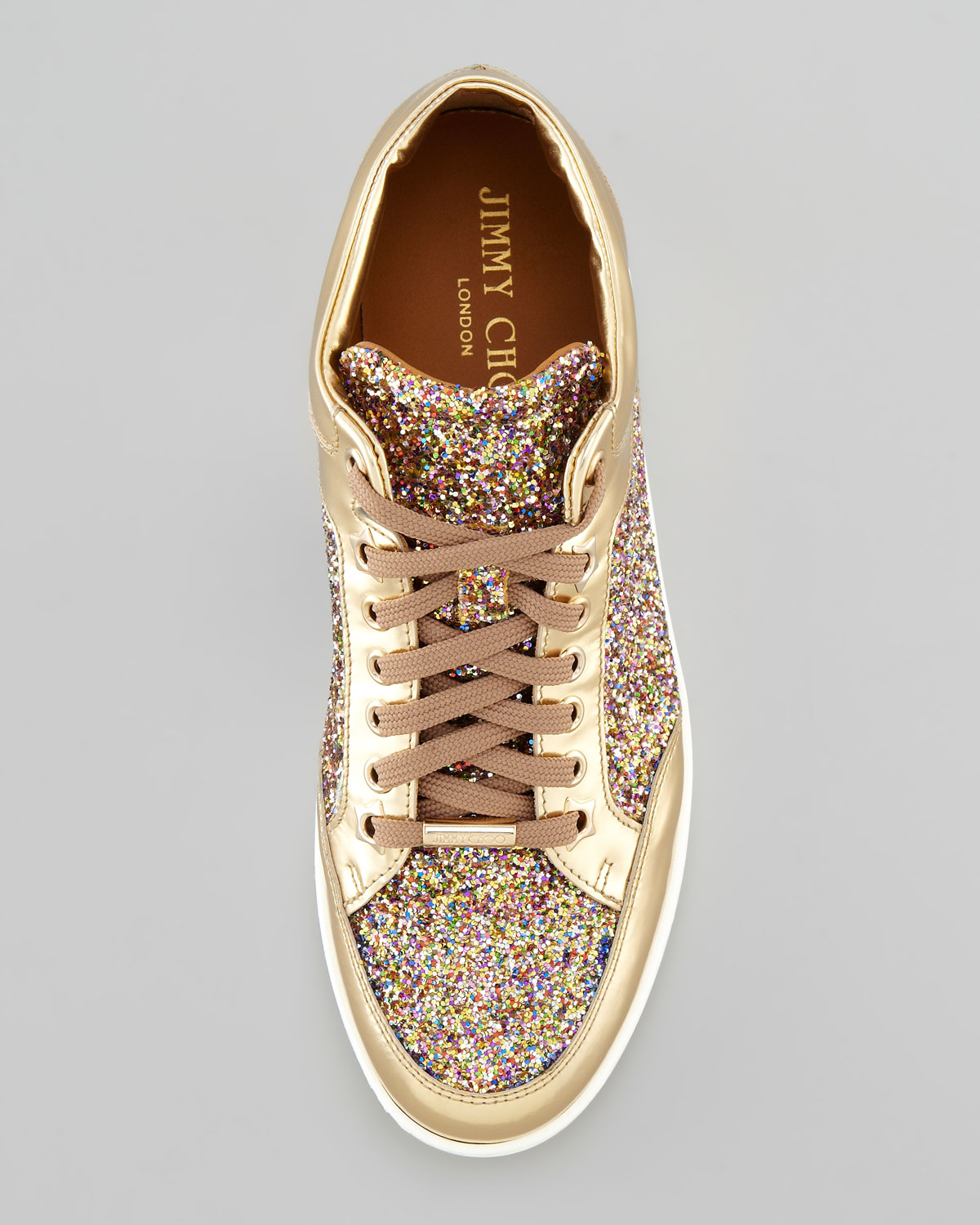 5534407f5b7 Gallery. Previously sold at  Neiman Marcus · Women s Jimmy Choo Glitter  Women s Jimmy Choo Miami Women s Jade Sneakers ...