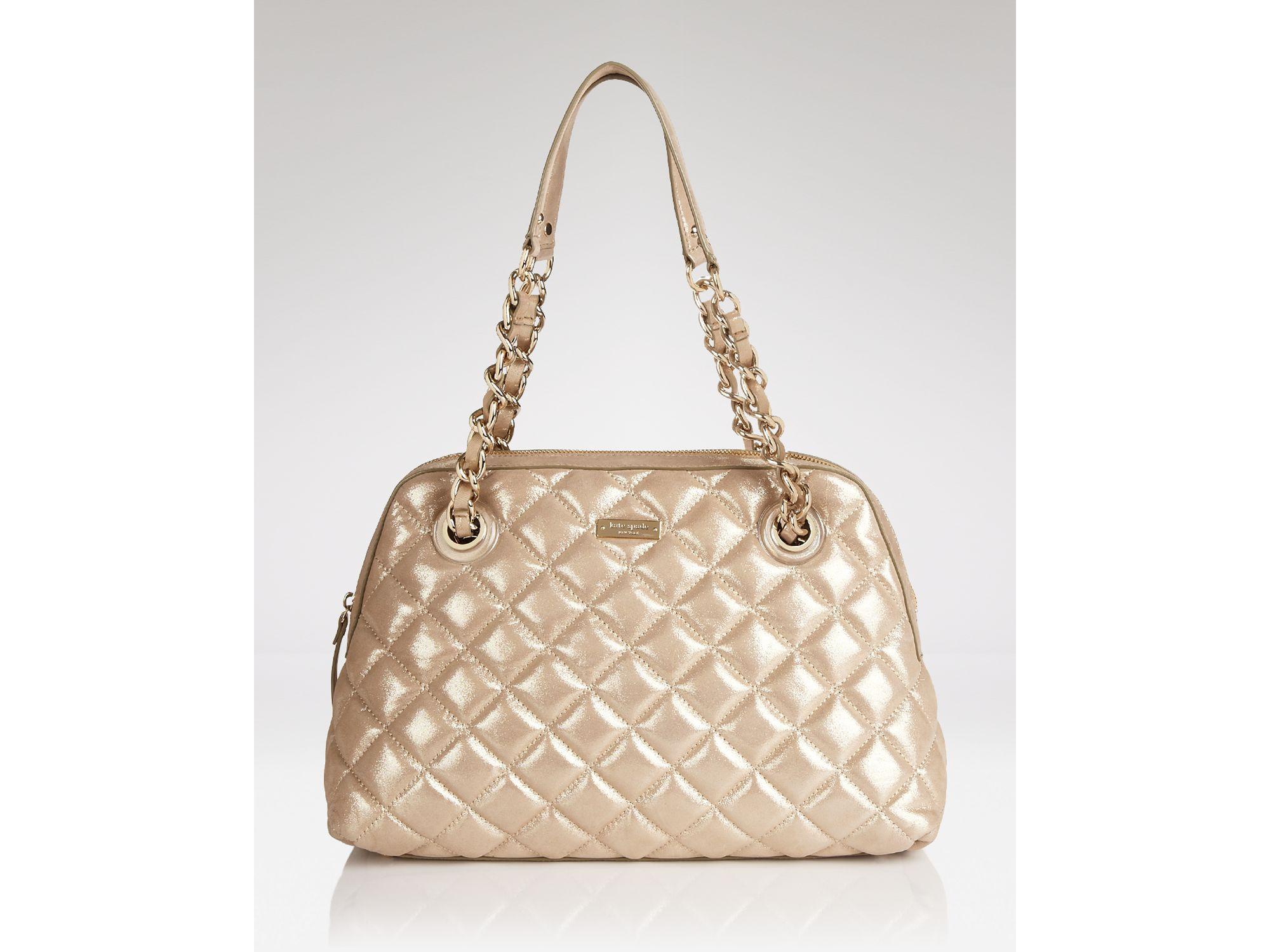 f402060753 Lyst - Kate Spade Shoulder Bag Gold Coast Georgina in Metallic