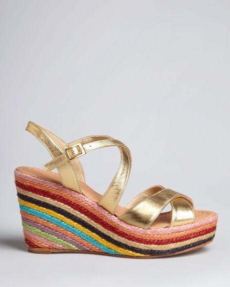 Kate Spade Espadrille Platform Wedge Sandals Dory In