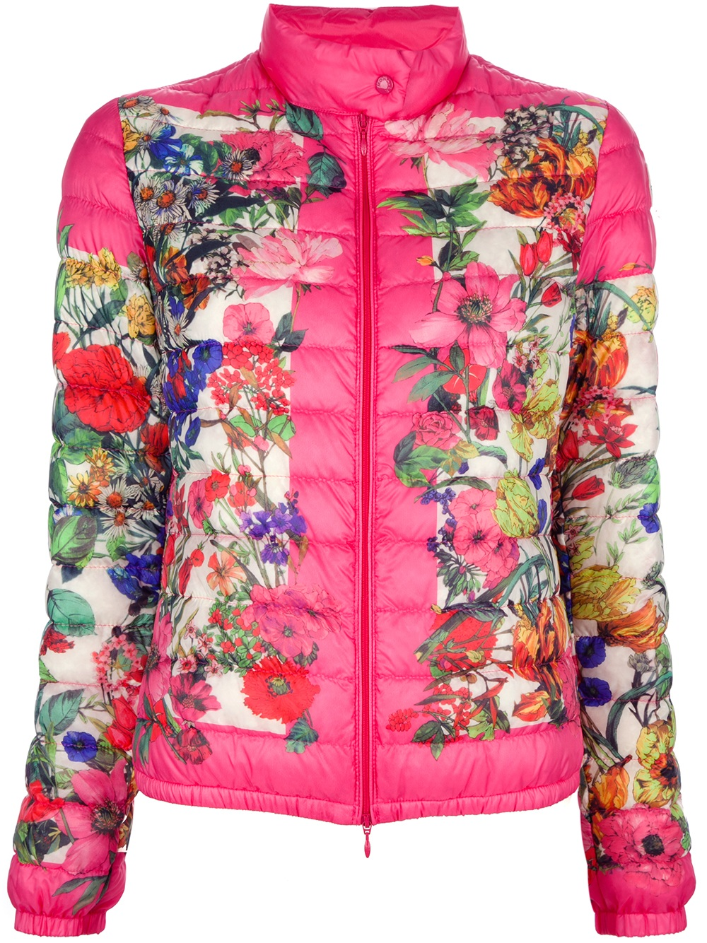 Lyst Moncler Alisia Floral Padded Jacket