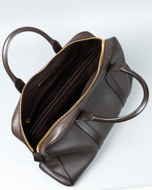 d3aca803b7b579 Lyst - Tom Ford Small Buckley Duffel Bag Brown in Brown for Men